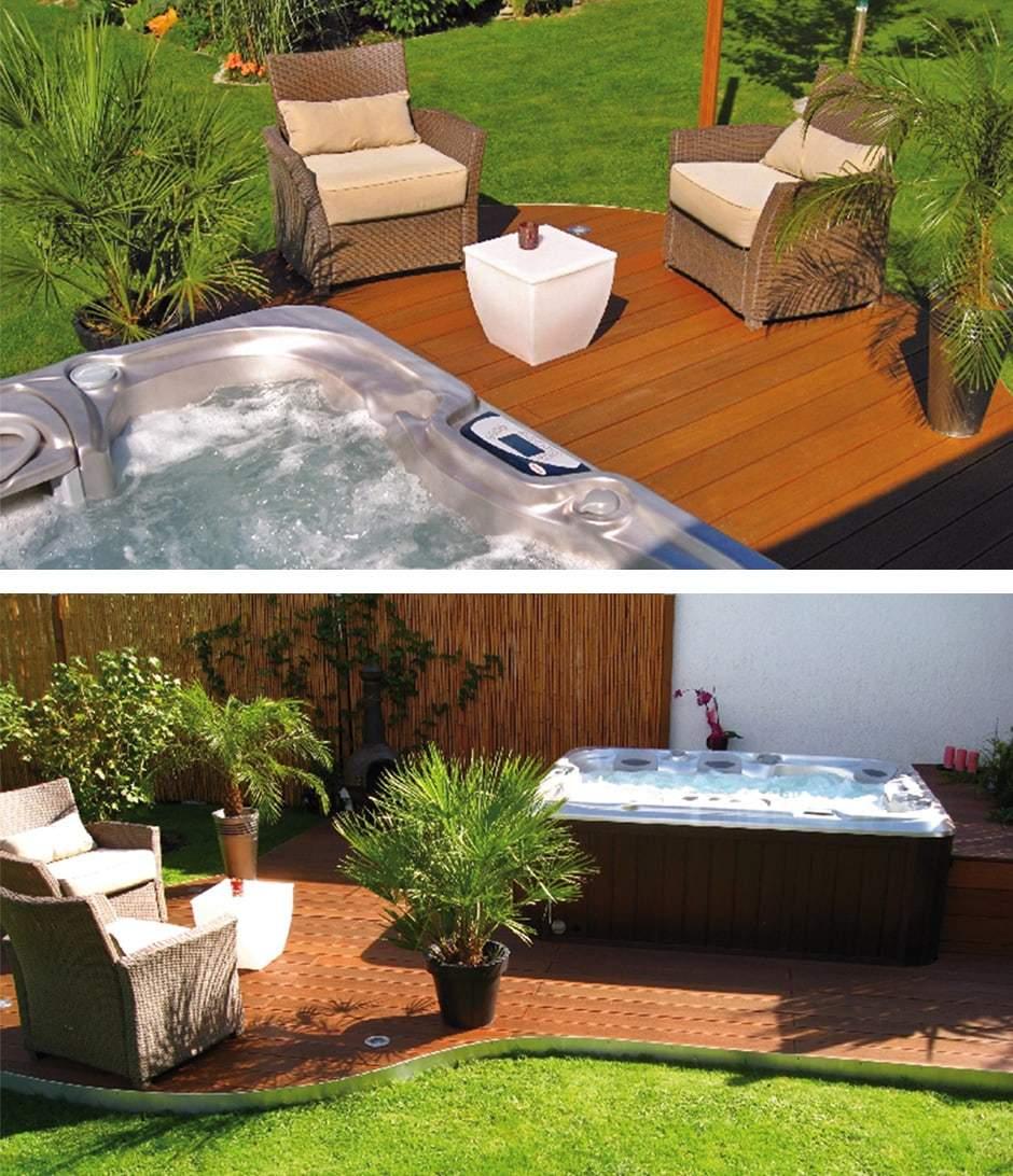 Best Outdoor Whirlpool Garten Spass Bilder Contemporary - Farbideen ...